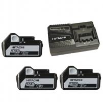 Powerpack lader UC18YFSL + 3 x accus BSL1850